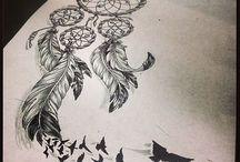 Dream Catchers tattoos