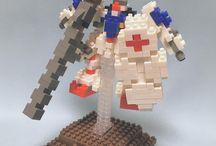 Nomuzox / Nomuzox est un « brick artist » japonais de nanoblock.