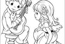 Couple musicien