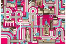 MAPOGRAFIAS / cartografía ilustrada - urbanismo -infogramas