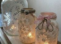 Decorations / Candle holders