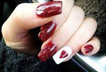 nails valentines
