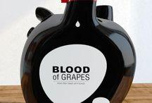 Packaging de bouteille atypique
