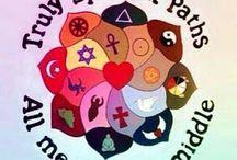 Faith, hope, peace, love