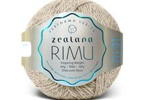 Zealana RIMU Fingering / Zealana RIMU is a sumptuous, hardwearing yarn made from 60% fine New Zealand merino and 40% brushtail possum make it the perfect choice for garments that need to go the extra mile and back again...with lots of washings in between.