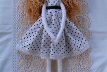 Тряпичные куклы ручной работы