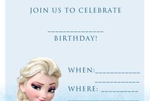 Frozen Birthday Party