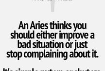 ARIES / My star sign