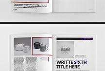 LAYOUT Brochure/Magazine/Website