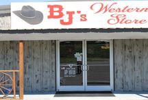 BJ's Western Store / We are a small family owned business in Cookeville, TN.  We serve the Upper Cumberland, Tennessee, and surrounding counties and states in their Western Needs.  Stop in and see us, or visit us online at www.bjswesternstore.com.  We look forward to assisting you. / by BJs Western Store