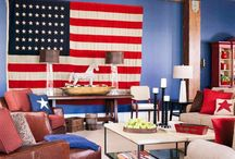 American Home / Interiors of all different homes, rustic cabins to luxury apartments in the city, we love everything about home décor done well.