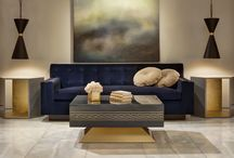 BRADLEY: Modern Luxury / This pieces are ideal for a luxury space with a modern edge.