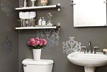 toilet décor