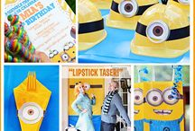 Birthday party Minions