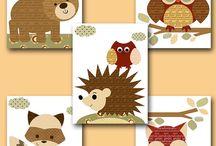 Baby Nursery - Woodland Creatures