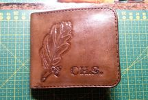 Roman SLamka / Leather Wallet