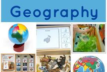 Geography at preschool