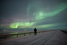 Northern Lights / Beautiful Northern Lights in North Iceland....