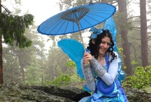 Lily the Blue Fairy / pictures of fun times with Lily the Blue Fairy / by Lily Flower