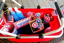 4th of July / Fun Fourth of July desserts, DIY decorations, party ideas and more for a fun and festive celebration