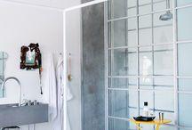ванные комнаты, душ, баня