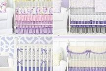 Gold and Purple Nursery Inspirations / Purple and gold nursery inspirations are not something everyone would think to put together but look so cute when paired with one another. Designer Caden Lane has nailed the lavender and purple baby bedding and is here to help you put together the cutest nursery for your new little one.