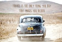 Wanderlust / /wɒndəlʌst/ (noun) a strong desire to travel.