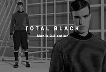 TOTAL BLACK - MAN'S COLLECTION