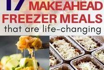 Make-ahead meal ideas