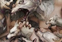 m o n s t e r; werewolf