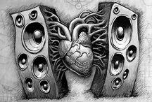 Musik tattoos