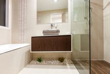 """MODERN SLEEK TILES / Modern, water front homes need sleek and timeless tiles. Multi award winning tile and bathroom showroom """"NATURAL TILE"""" have provided these tiles to multi award winning home builder  """"MEES CONSTRUCTION"""" for private residence in Pelican Waters, Queensland."""