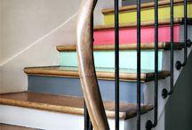 Déco // escaliers