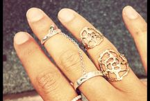 Jewelry Love / Jewelry that I love, but it's not quite my style :) Still worth pinning though :)