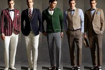 1920's men's fashion / by Devin Short