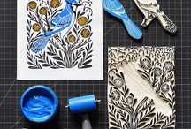 lino art and other things