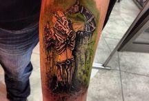 Tattoos / Tattoo studio at kos town Greece
