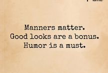 Manners matters