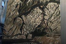 Cueva Coventosa / Huile sur toile