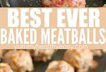 meat balls baked