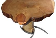 Driftwood tables / Sustainable sourced hand made art tables