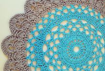 Doilys and doily rugs