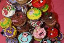 Monster themed cakes