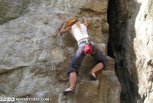 Rock Climbing Adventures / There is no better place for outdoor rock climbing than among the beauty of Canada's mountains and cliffs.
