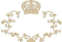Provençais coroas e imagens