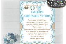 Baby Shower Boy Blue Clothesline Games, Invitations, Decorations and more... / Hi, thank you for visiting this beautiful baby shower board with baby boy clothes theme. Here you can find a lot of blue baby shower decorations and activities with over 40 listings per theme.