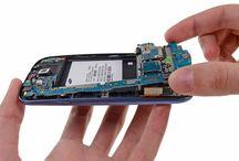 Sustitución de la placa base del Samsung Galaxy S3 / Para sustituir la placa base del Galaxy S3, siga los pasos siguientes