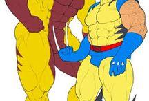 Magnum Feering X-Men Fanart - Wolvertooth - Wolverine & Sabretooth