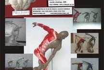 MODELAGEM DA FIGURA HUMANA / Curso de Modelagem da Figura Humana, produzido por mim no ano de 2012. A proposta era apresentar conceitos de anatomia, proporção e escala para os interessados em se aprofundar na escultura da forma humana.