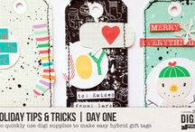 """10 Holiday Tips & Tricks: 2016 / This is a collection of all of the """"Holiday Tips & Tricks"""" posts that ran on The Digital Press blog during December 2016."""